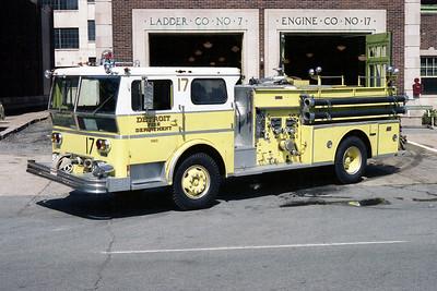 DETROIT FD  ENGINE 17  1974  WLF AMBASSADOR   1000-500
