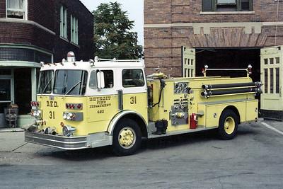 DETROIT FD  ENGINE 31  1977  SUTPHEN   1000-500