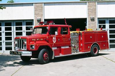 MINNEAPOLIS FD MN  ENGINE 7  1981  IHC S -  GENERAL SAFETY   1250-500