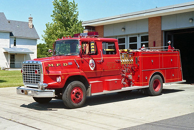 MINNEAPOLIS FD MN  ENGINE 16  1974  FORD L8000 - GENERAL SAFETY   1250-500