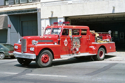 MINNEAPOLIS FD MN  ENGINE 1R  1969  PIRSCH   1250-500