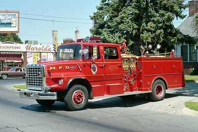 MINNEAPOLIS FD MN  ENGINE 13  1974  FORD L8000 - 1981  GENERAL SAFETY   1250-500