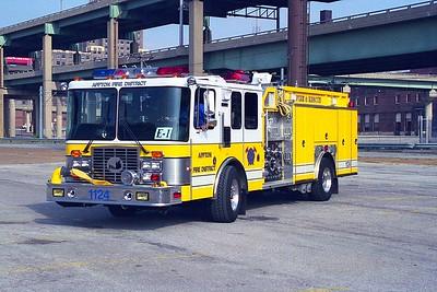 Affton FPD MO - Engine 1124 - 1995 HME 1871-Ferrara 1250-500-30F