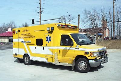 Affton FPD MO - Medic 1117 - 2003 Ford F 450-Braun #3659