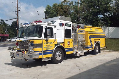 Affton FPD MO - Engine 1114 - 2005 E One Typhoon 1250-750 #129155