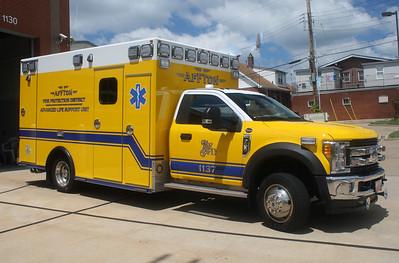 Affton FPD MO - Medic 1137 - 2017 Ford F 450-Osage #5273J2518