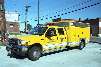 Affton FPD MO - Squad 1139 - 2001 Ford F 550- Central States #4172