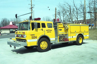 Affton FPD MO - Engine 1124 - 1980 Ford C 8000-E One 1000-500 #1475