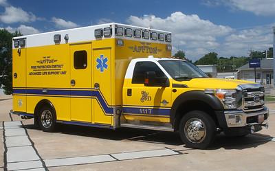 Affton FPD MO - Medic 1117 - 2015 Ford F-450-Osage 4768J2235