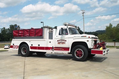 Antonia FPD MO - Tanker 5313 - 1969 Ford F 850-Towers 750-1000 #1375
