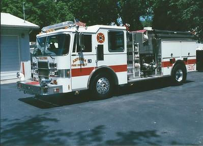 Antonia FPD MO - Engine 5310 - 1992 Pierce Dash 1500-900-30F E-6608