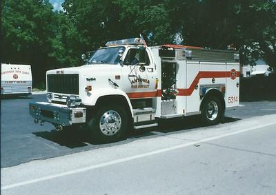 Antonia FPD MO - Engine 5314 - 1989 GMC Top Kick-American Eagle 500-300 #C-1250