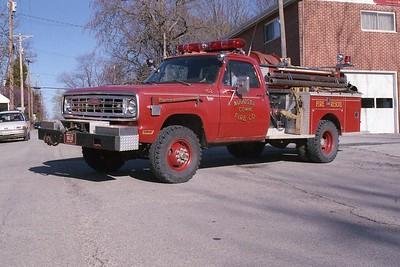 Augusta FPD MO - Brush 8618 - 1974 Dodge-Pierce 250-250