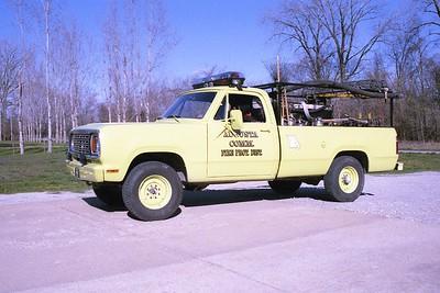 Augusta FPD MO - Brush 8628 - 1977 Dodge-FD 125-250