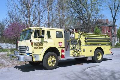 Augusta FPD MO - Engine 8614 - 1981 IHC Cargostar 1810-Oren 750-750