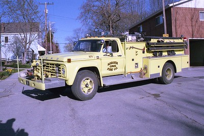 Augusta FPD MO - Engine 8610 - 1979 Ford F 700-American 750-750