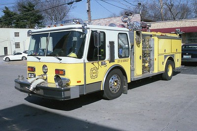 Berkeley MO - Engine 3620 - 1985 E One Hurricane 1500-750 #3987