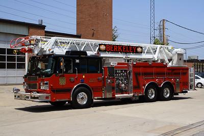 Berkeley MO - Ladder 3612 - 2010 Spartan Sirius-Smeal 2000-480-20F 105' Rmt #018180-385