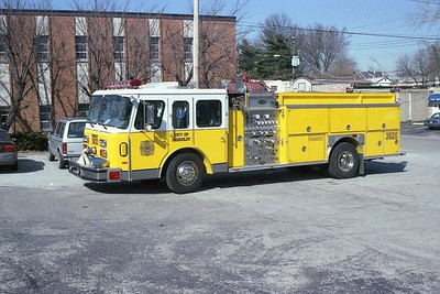 Berkeley MO - Engine 3620 - 1990E One Hush 1500-750 #7851