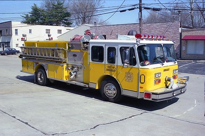 Berkeley MO - Engine 3610 - 1990 E One Hush 1500-750 #7851