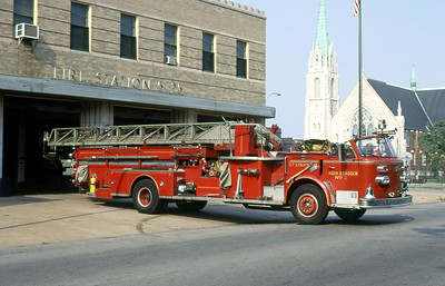 ST LOUIS FD  HOOK & LADDER 2  1966  ALFCO 900   100' MIDMOUNT