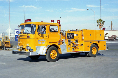 CLARK COUNTY FD NV  ENGINE  SEAGRAVE