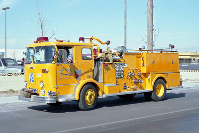 CLARK COUNTY FD NV  ENGINE 12  CROWN