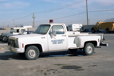 CLARK COUNTY FD NV  UTILITY  CHEVY PICKUP