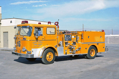 CLARK COUNTY FD NV  ENGINE 16  SEAGRAVE