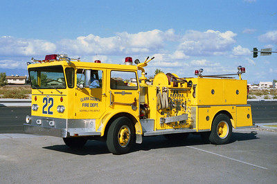 CLARK COUNTY FD NV  ENGINE 22  ALF PIONEER