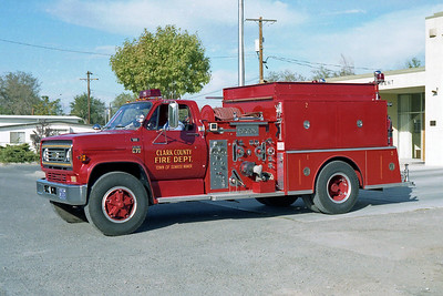 CLARK COUNTY FD NV  ENGINE 20  CHEVY C70 - ALF