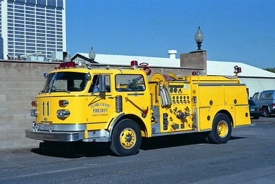 CLARK COUNTY FD NV  ENGINE 11  ALF CENTURY YELLOW