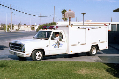 CLARK COUNTY FD NV  MOBILE AIR  DODGE - WHITE