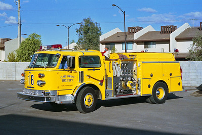 CLARK COUNTY FD NV  ENGINE 16  ALF CENTURY