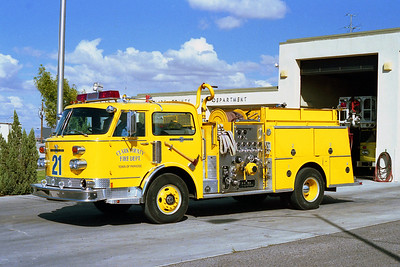 CLARK COUNTY FD NV  ENGINE 21  ALF CENTURY