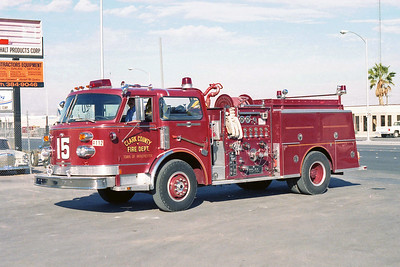 CLARK COUNTY FD NV  ENGINE 15  ALF CENTURY   RED