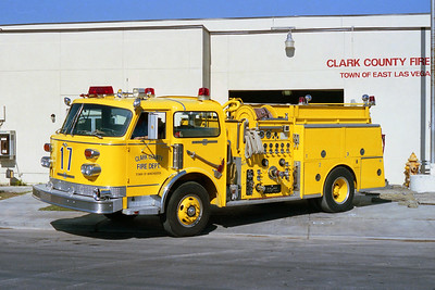 CLARK COUNTY FD NV  ENGINE 17  ALF CENTURY
