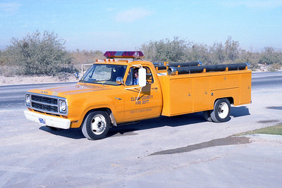 CLARK COUNTY FD NV  HOSE WAGON  16
