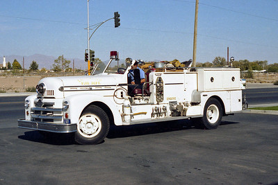LAS VEGAS FD  NV  ENGINE 3R  SEAGRAVE 70th