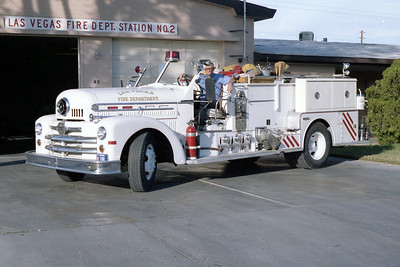 LAS VEGAS FD  NV  ENGINE 2  SEAGRAVE 70th