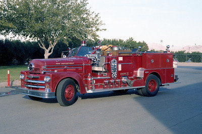 LAS VEGAS FD  NV  ENGINE 8  SEAGRAVE 70th