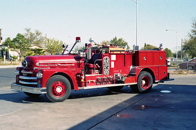 LAS VEGAS FD NV  ENGINE 7  SEAGRAVE  70th