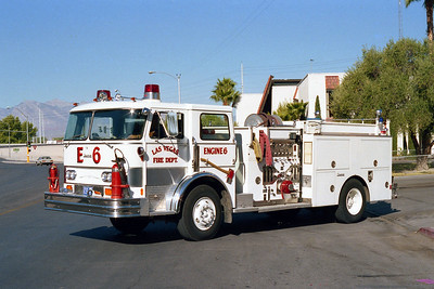 LAS VEGAS FD  NV  ENGINE 6  HAHN - SUPERIOR