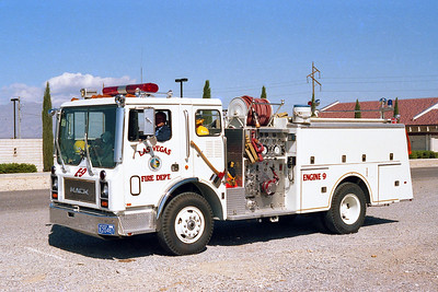 LAS VEGAS FD  NV  ENGINE 9  MACK MC