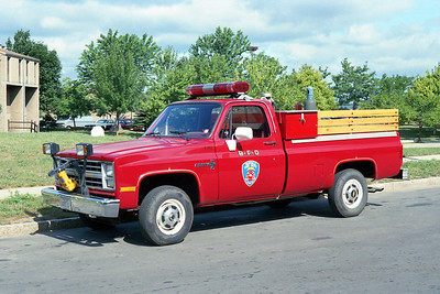 BUFFALO FD  AIR TRUCK  1974  CHEVY PICKUP