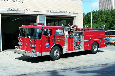 BUFFALO FD  ENGINE 1  1984  DUPLEX - GRUMMAN   1250-500