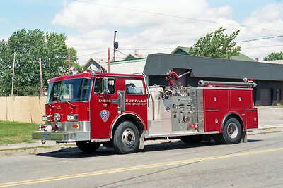 BUFFALO FD  ENGINE 25  1985  PIRSCH   1250-500