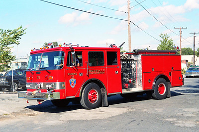 BUFFALO FD  ENGINE 33  1987  PIERCE ARROW   1250-500