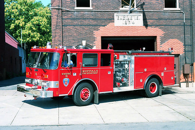 BUFFALO FD  ENGINE 16  1987  PIERCE ARROW   1250-500