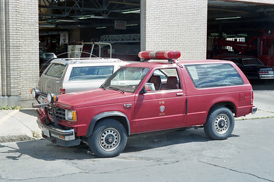 BUFFALO FD  CAR F-43  CHEVY BLAZER